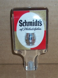 schmidts beer tap handle