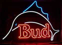 budweiser beer marlin neon sign Budweiser Beer Marlin Neon Sign budmarlin neon beer signs for sale Home budmarlin