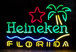 MY BEER SIGN COLLECTION – Not for sale but can be bought… heinekenfloridabeach