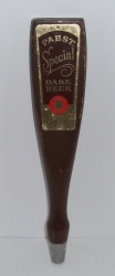 pabst special dark beer tap handle