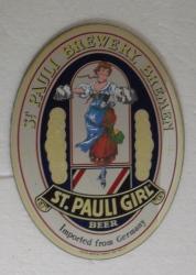 St Pauli Beer Mirror