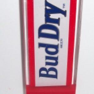 bud dry beer tap handle