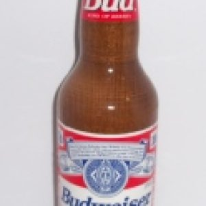 budweiser beer bottle tap handle