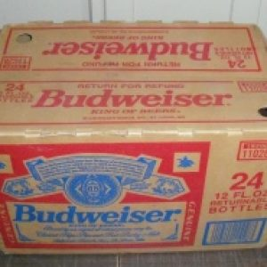 budweiser beer case