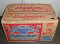budweiser beer case