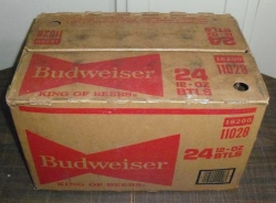 budweiser beer box