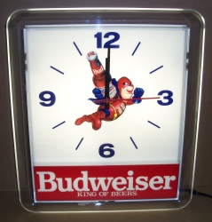 MY BEER SIGN COLLECTION – Not for sale but can be bought… budweiserbudmanlight1991