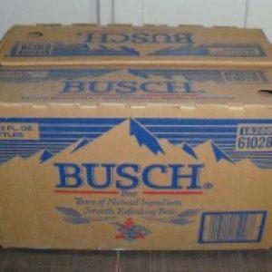 busch beer box
