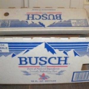 busch beer case