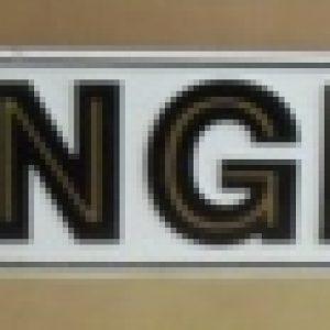 yuengling tin sign