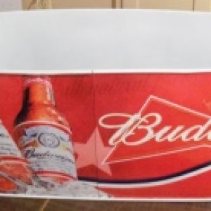 budweiser beer ice tub
