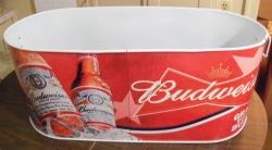 budweiser beer ice tub