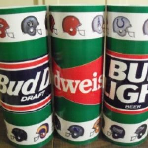 budweiser beer nfl base wrap
