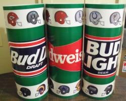 budweiser beer nfl base wrap