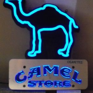 camel cigarettes led sign