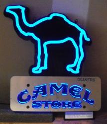 camel cigarettes led sign