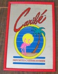 caribe beer mirror