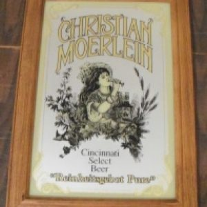 christian moerlein beer mirror
