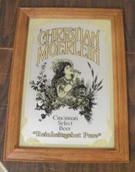 christian moerlein beer mirror