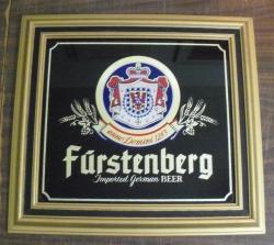 furstenberg beer sign