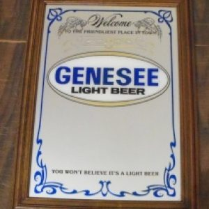 genesee light beer mirror