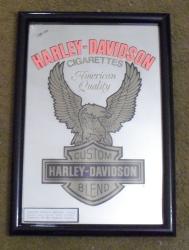 harley davidson cigarettes mirror