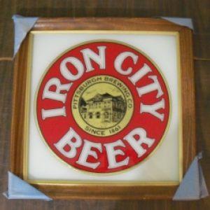 iron city beer mirror