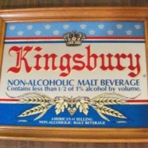 kingsbury beer mirror