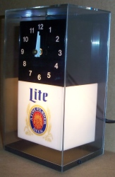 lite beer clock light