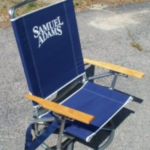 Samuel Adams Beer Beach Chair