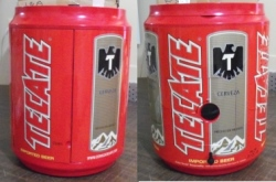 tecate beer cooler radio