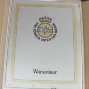 warsteiner beer mirror