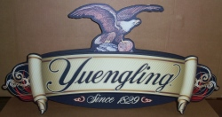 yuengling beer wood sign