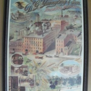 yuengling beer brewery sign