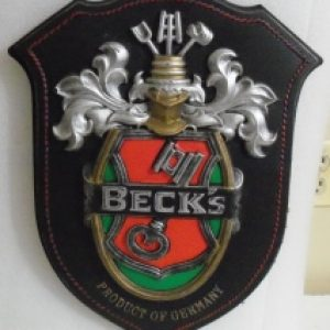 Becks Beer Sign