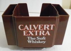calvert extra whiskey napkin holder