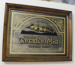 canadian mist whisky mirror