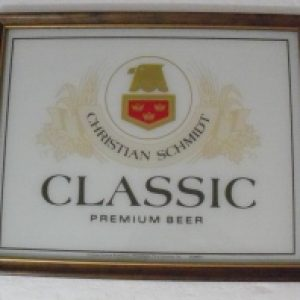 Christian Schmidts Classic Beer Sign