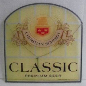 christian schmidt premium beer sign