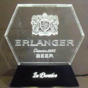 erlanger beer lighted display