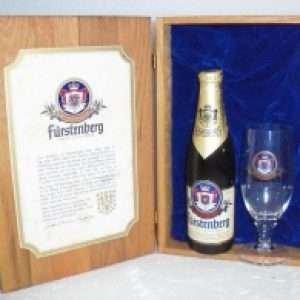 furstenberg beer glass set