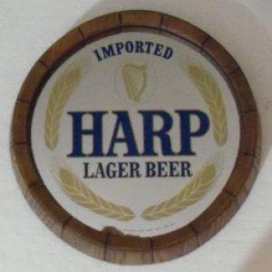 Harp Lager Barrel Mirror