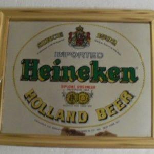 heineken holland beer mirror