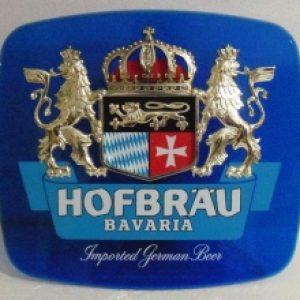 hofbrau bavaria beer sign