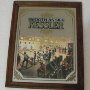 kessler whiskey mirror