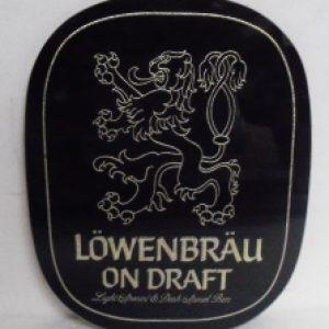 lowenbrau beer sign