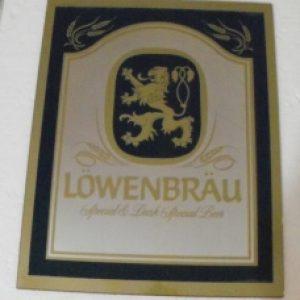 lowenbrau special beer mirror