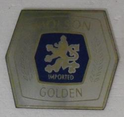 Molson Golden Beer Mirror