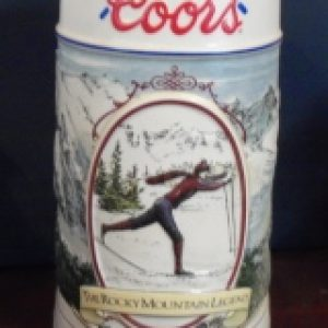 1991 Coors Holiday Beer Stein