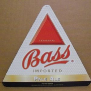 bass pale ale tin sign